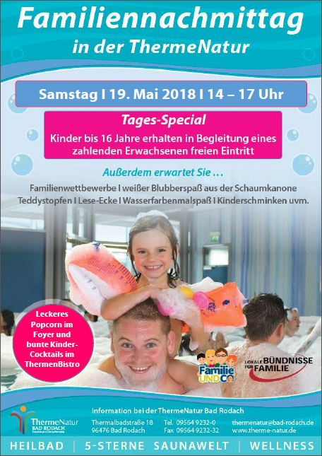 Familiennachmittag in der NaturTherme Bad Rodach